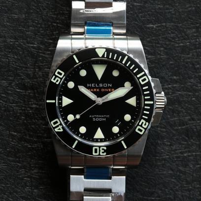 Auto diver 40mm case 28k beats decent lume under 600 - 40mm dive watch ...